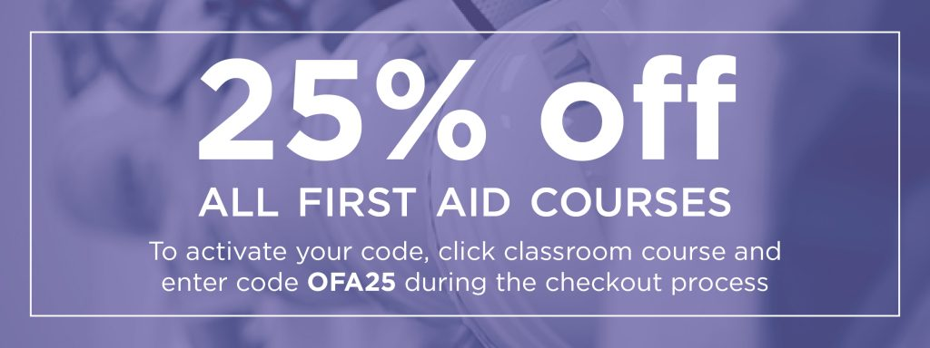 First Aid Course Vancouver Promo